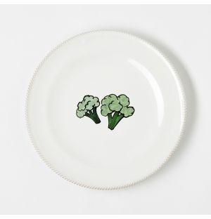 Assiette Verdura Broccoli – 20 cm
