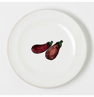 Assiette Verdura Aubergine – 27 cm
