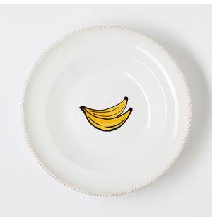 Assiette creuse Verdura Banana – 23 cm
