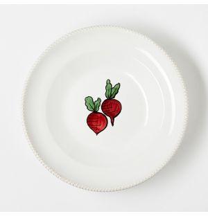 Assiette creuse Verdura Radish – 23 cm