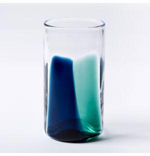 Verre bleu High Ball