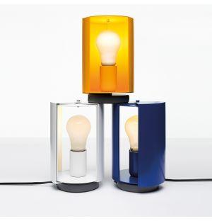 Lampe à poser pivotante jaune