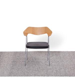 Tapis kilim à losanges gris - 170 x 240 cm