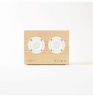 Enceinte en bois UPCRAFTED, édition limitée