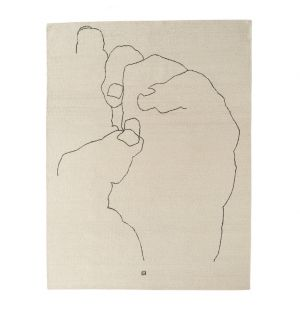 Tapis Mano 1993 - 184 x 240 cm