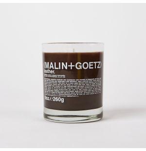 Bougie parfumée au cuir