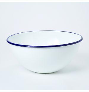Bol bleu en émail Rim - Large