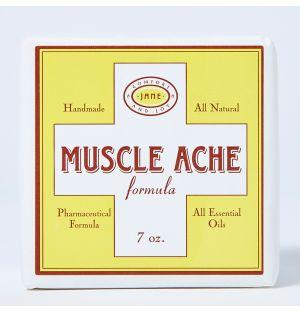 Cube effervescent pour le bain Muscle Ache