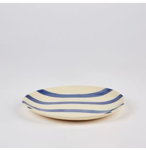 Petite assiette Stripe – 23 cm