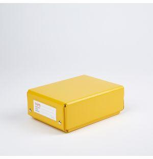 Boîte de rangement jaune Buro S