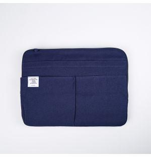 Pochette bleu marine - Large