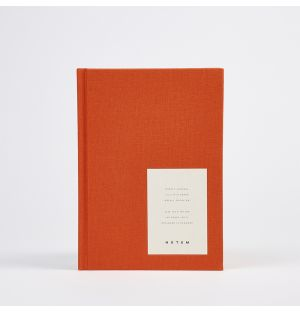 Journal de bord orange EVEN Medium