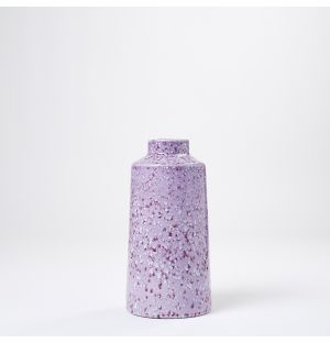 Vase mauve Speckled – Small