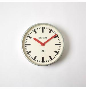 Horloge murale rouge Luggage