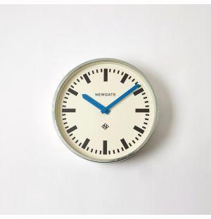 Horloge murale bleue Luggage