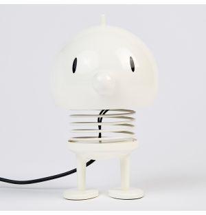 Lampe figurine blanche Bumble