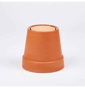 """Pot """"renversé"""" en terracotta - 8 cm"""