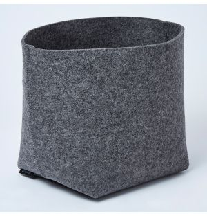 Panier gris anthracite Silo - Large