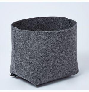Panier gris anthracite Silo - Medium