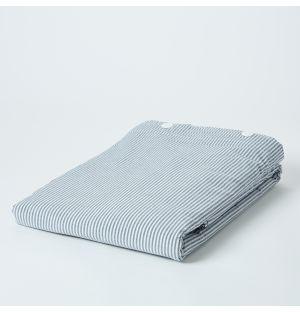 Linge de lit en coton premium à rayures
