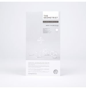 Kit de pliage en papier Platonic