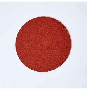 Dessous de plat en feutre rouge