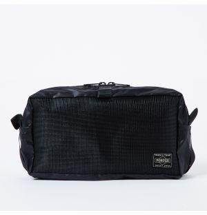 Pochette noire compact Knapsack