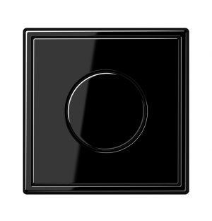 Interrupteur à variateur noir LS 990