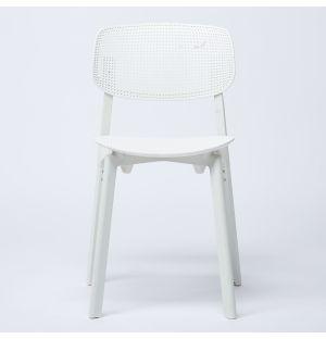 Chaise blanche Colander - modèle d'exposition