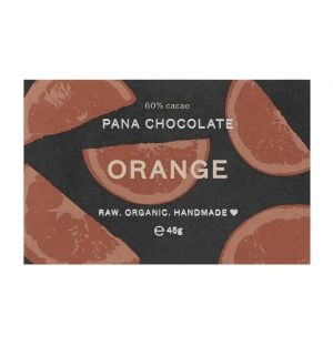 Tablette de chocolat orange végan - 45 gr
