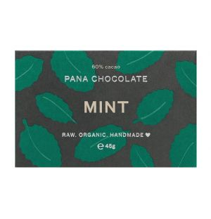 Tablette de chocolat menthe végan - 45 gr