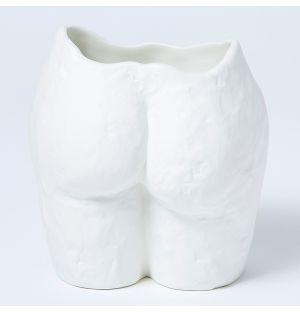Vase blanc Popotin