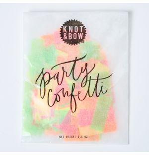 Confettis néon