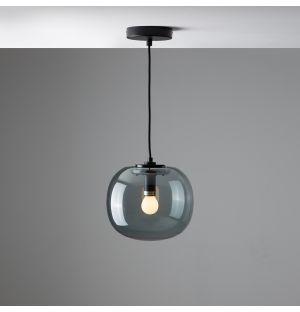 Suspension gris fumé Flo - Small