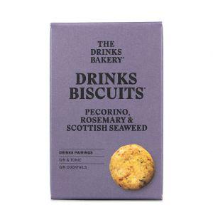 Biscuits pecorino, romarin et algues écossaises