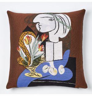 Housse de coussin Picasso – Nature morte aux tulipe