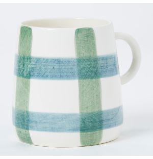 Mug bleu et vert Pintura