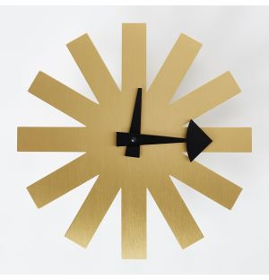 Horloge Asterisk en laiton