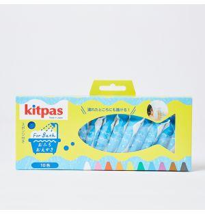 Boîte de 10 crayons de couleur pour le bain