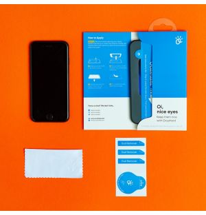 Vitre de protection anti-lumière bleue iPhone X, XS et 11