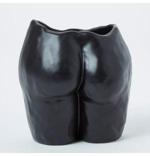 Vase noir Popotin