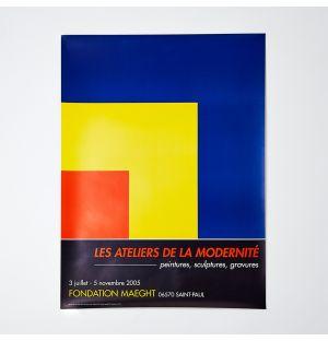 Affiche «Les ateliers de la modernité » Ellsworth Kelly