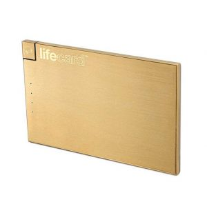 Batterie externe LifeCard Gold