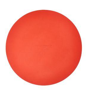 Set de table rond orange Cuero - 36 cm