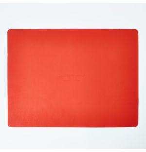 Set de table rectangulaire orange Cuero