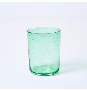 Verre vert jade Bubble