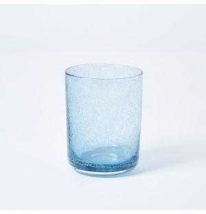 Verre bleu ciel Bubble