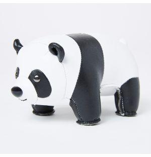 Presse-papier en cuir synthétique Panda
