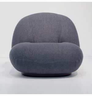 Fauteuil anthracite Pacha