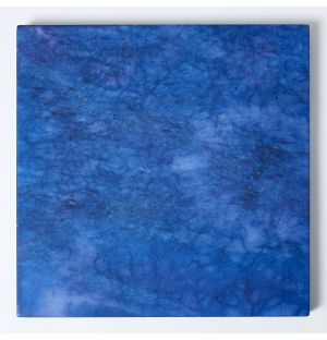Set de table carré bleu Alabaster
